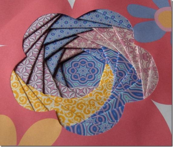 Скрапбукинг - техника iris folding